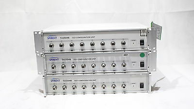 Spirent TAS5048 Test Configuration Unit Job Lot x3