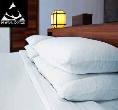 100% Luxury Egyptian Cotton 200 Thread Count Fitted Sheets. Bedding Pillow Cases