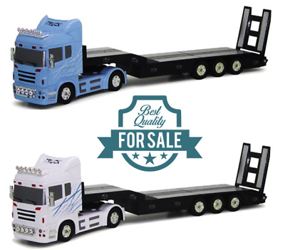 Radio Remote Control RC Toy 6CH Heavy Truck Low Bed Trailer 1:32 Scale RTR