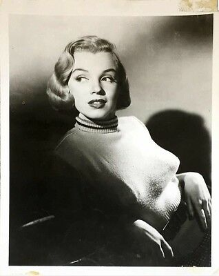 "Marilyn Monroe 1950's VINTAGE ORIGINAL ""Home Town Story"" 8x10 Photo"