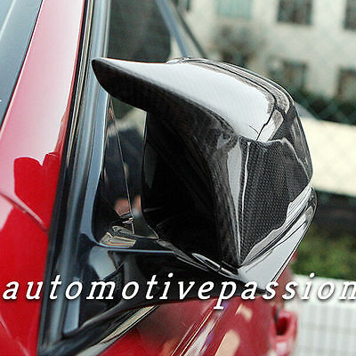 BMW M3/M4 style carbon fibre  Replacement Mirror Covers F20 F21 F30 F31 F32 F33