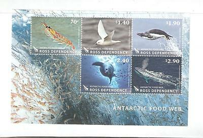 2013  Ross Dependency -  S.g.  Ms  144  -  Food Web - Unmounted Mint