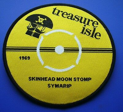 Skinhead Ska Reggae Patch - Skinhead Moonstomp Label