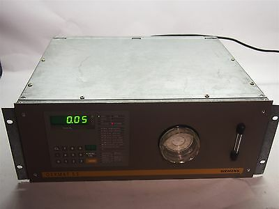 Siemens Oxymat 5E 7MB1020-0BG10-0EA1 Oxygen Analyzer As Is