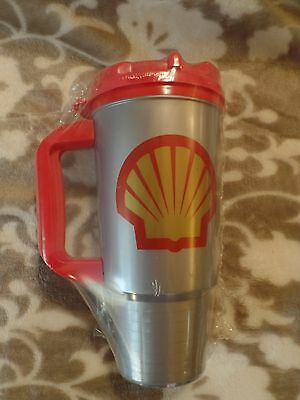 Vintage Whirley 24oz insulated Coffee Mug. Shell Logo New Old Stock.