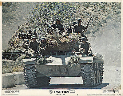 Patton 1970 Original Movie Poster Biography Drama War