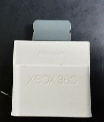 Microsoft Xbox 360 64MB Memory Card Unit [Official Original OEM] Tested & Works