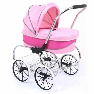 ValcoBaby Princess Doll Stroller - Hot Pink
