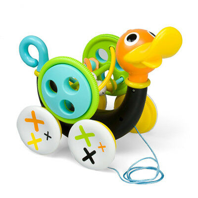 Yookidoo Pull Aling Baby Acitivity Toy Whistling Duck