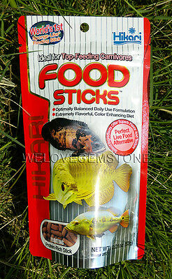 Hikari TROPICAL FOOD STICKS Fish Food For Arowana & Top Feeding Carnivorous Fish