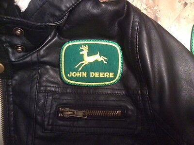 **LOVE IT OR ITS FREE** John Deere embroidered patch, Free Ship (3IN X 2-1/4IN)