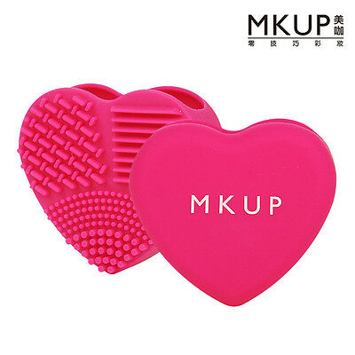 [MKUP] Love My Brush Silicone Makeup Brush Cleansing Tool 1pc NEW