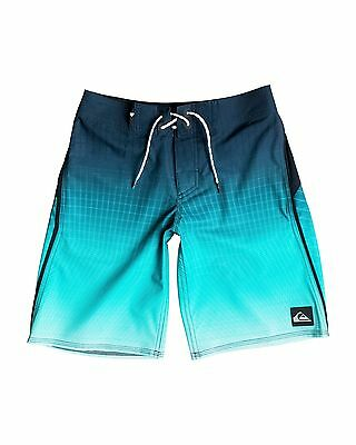 "NEW QUIKSILVER™  Boys 8-16 Tech Vee 18"" Boardshort Boys Teens"