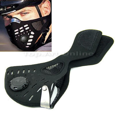 Neoprene Anti-Dust Motorcycle Bicycle Cycling Ski Outdoor Half Face Mask Filter