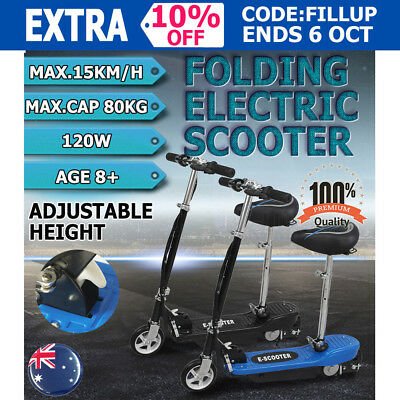 Electric Scooter 140W Adjustable and Foldable for both Adults / Kids Children