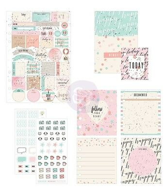 My Prima Planner Goodie Pack Follow Your Heart Frank Garcia - Stickers, Inserts