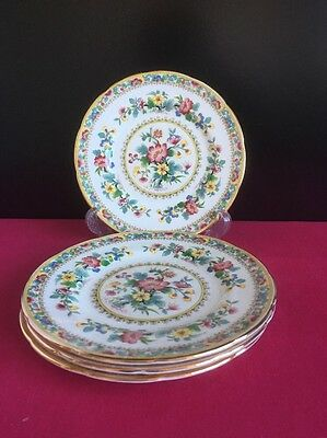 "4 X Coalport Ming Rose 6"" Side / Tea Plates 2 Sets Available"