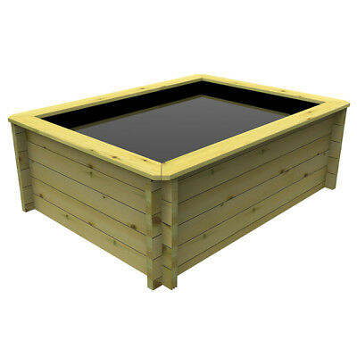 1.5m x 1m, 27mm Wooden Pond 697mm high
