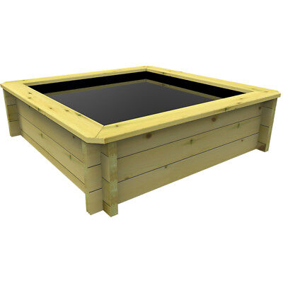 1m x 1m, 27mm Wooden Pond 429mm high