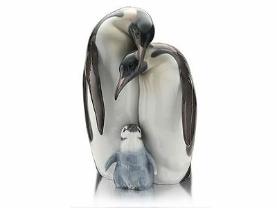 Lladro 1008696 Penguin Family