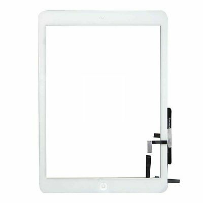 White Front Panel Outer Glass Assembly Repalcement Part For iPad Air 1 Gen