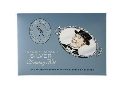 Town Talk Jewellery Silver Care Cleaning Kit Cleaner Sparkle Sachets Cloth