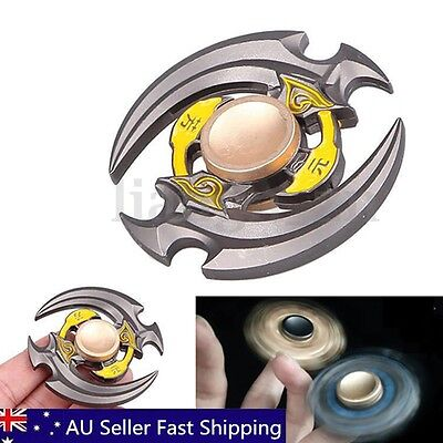 Alloy Hand Fidget Spinner Finger EDC Focus Stocking Toys Adult Kids ADHD Autism