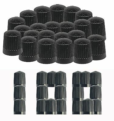 100 Plastic Tyre Valve Dust Caps Car Van Bike Quad Bicycle Motorbike Inner Tube