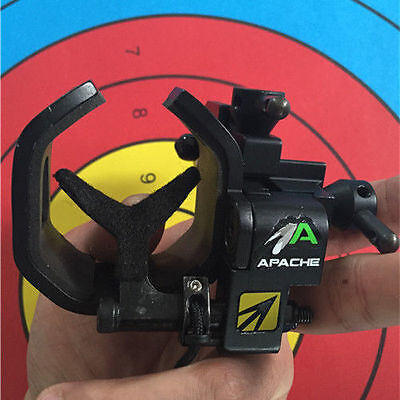 NAP New Archery Products Apache Drop Away Arrow Rest Right Hand APG black