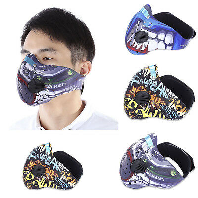 New Anti-Dust Motorcycle Bicycle Cycling Ski Outdoor Half Face Mask Filter