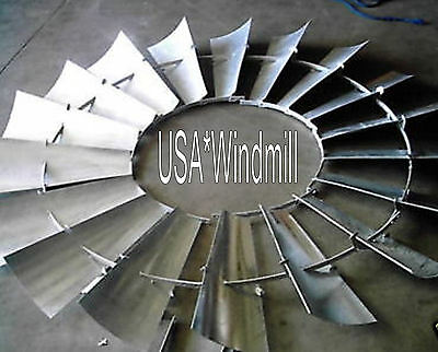 Aermotor Windmill Wheel for 6ft X702 Models, new w/o spokes, sections assembled