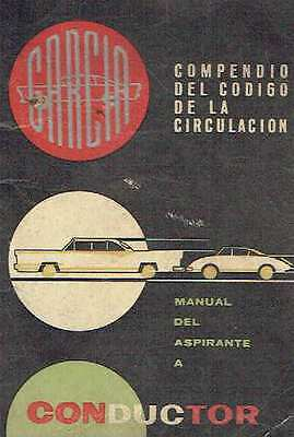 Manual del aspirante a conductor.