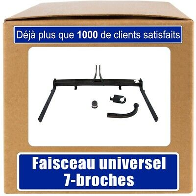 Ford Galaxy 95-00 Attelage fixe+faisc. 7b uni. Compl.