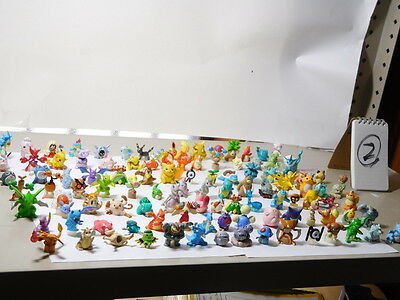 Bandai Pokemon figure Full Color Stadium collection lot of 105 set #2