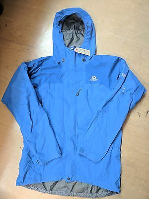Mountain Equipment Blue Goretex Pro Shell Outdoor Weather Jacket Size Large #1