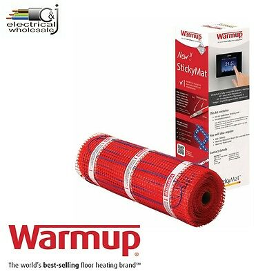 Warmup 200w StickyMat  Underfloor Heating System Various sizes