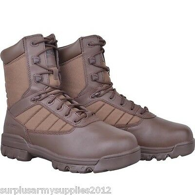British Army Brown Boots Issued Surplus Bates Mtp Pcs 7 13 Cadet Mens Walking