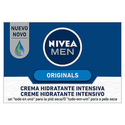 Nivea Men Crema Hidratante Intensiva 50Ml # Intensive Moisturizing Cream