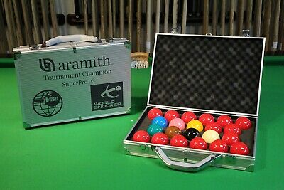 ARAMITH 1G TOURNAMENT CHAMPION  MATCH SNOOKER BALLS  Chesworth Cues Sheffield