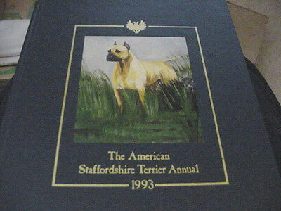 American Staffordshire Terrier Annual 1993 Limited Numbered Edition