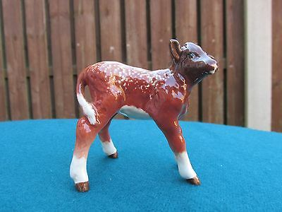 PERFECT RARE BESWICK DAIRY SHORTHORN CALF -  1406c