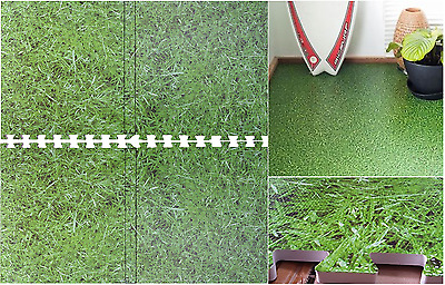 Grass Effect Interlocking Eva Mat Jigsaw Floor Tiles Soft Foam Kids Play NonSlip