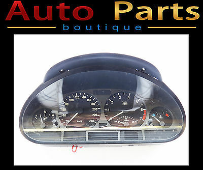 BMW E46 3 Series 1999-2006 OEM Genuine Instrument Cluster 1036017005