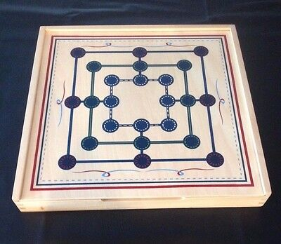 Pottery Barn Kids, Muhle Wooden Board Game.