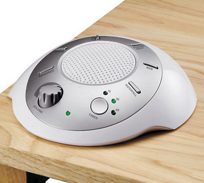 Sound Machine White Noise Soothing Spa Relaxation New Sleep Therapy Conditioner