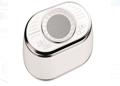 Sound Machine White Noise Soothing Spa Relaxation Therapy Sleep Conditioner New