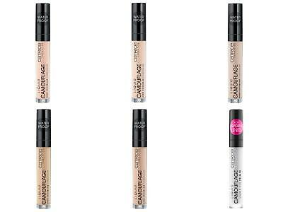 Catrice Liquid Camouflage - High Coverage Concealer NEW 5 Shades