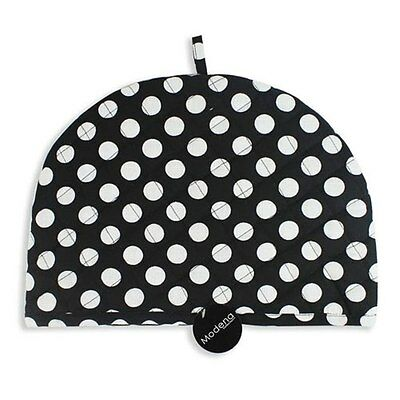 New Cotton Tea Cosy Cozy Teapot Warmer Cover Quilted Padded Polka Dot Spotty