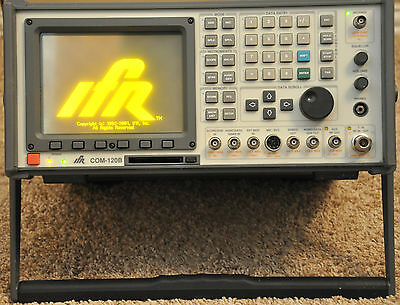 Aeroflex IFR Com 120B Communication Service Monitor 1030 Hrs 1 GHz 120