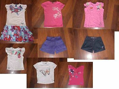 lot short robe haut catimini 10 ans fille